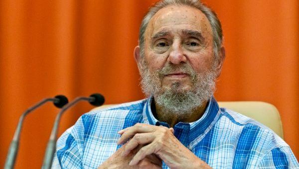 El líder de la Revolución cubana, Fidel Castro, de 88 años de edad, fue reconocido por sus