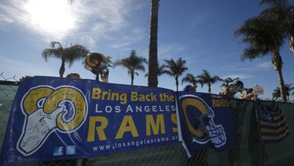 National Football League owners approve of Rams' relocation to LA
