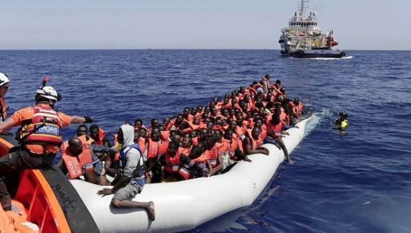 Calm seas, Libya's lawless state open door for migrant flows