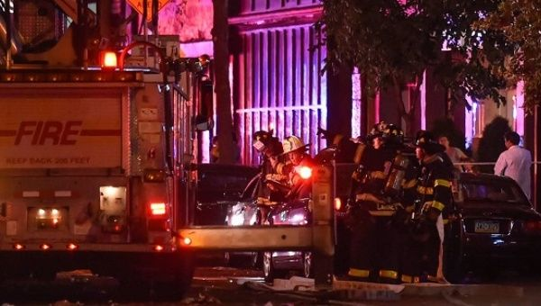 29 injured in explosion in NYC's Chelsea neighborhood