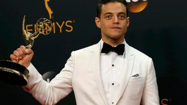 Emmys 2016: Rami Malek wins Outstanding Lead Actor in a Drama Series