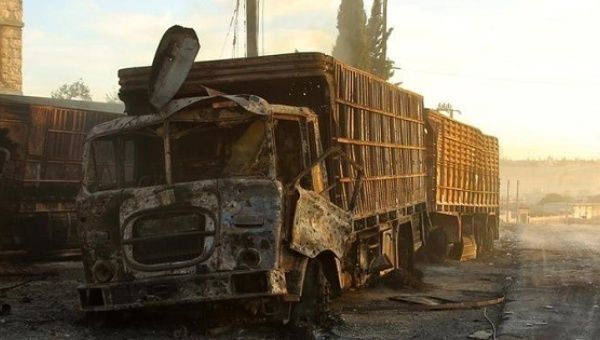 United Nations resumes Syria aid supplies after convoy attack