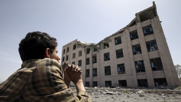 Saudi-led coalition air strike kills at least 19 in Yemen -residents