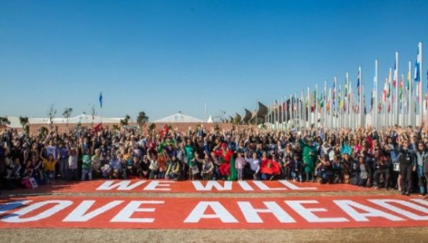 United Nations climate conference adopts declaration for action