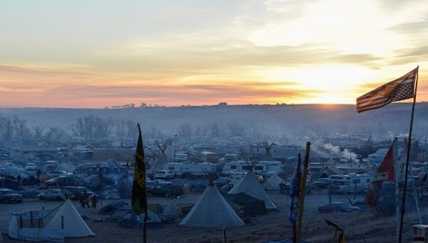 Pipeline protesters vow to stay camped on federal land