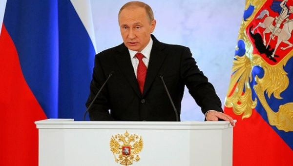 Vladimir Putin Signals Readiness To Work With Trump Administration In Live Speech