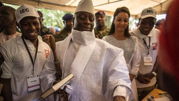 Gambia's president swept from power after two decades in charge