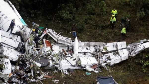 Human error caused Brazilian football team's plane to crash