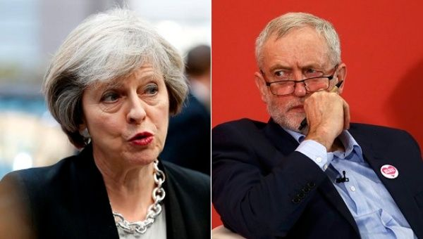 Theresa May tears into Jeremy Corbyn at PMQs