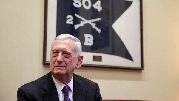Defense Nominee James Mattis Breaks with Trump over Russian Federation