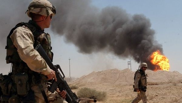 Mattis in Baghdad