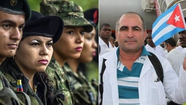 Cuba to grant medical school scholarships to Colombian guerrilla fighters