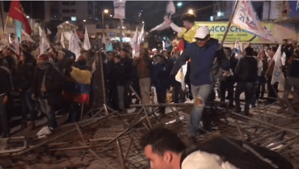 Ecuador leftist claims victory, conservative demands recount