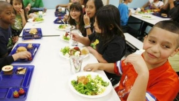 School Meal Standards Shake-Up: Sodium Stays, Whole Grains Out
