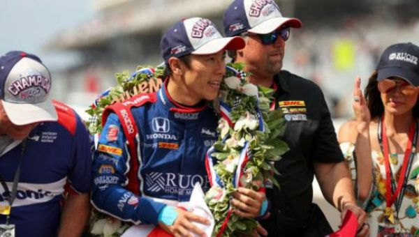 Sato and Honda leave Alonso without his first Indy 500