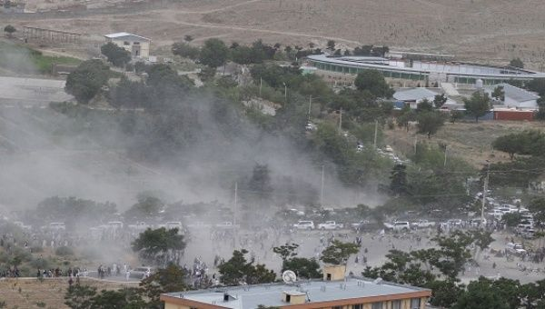 12 killed in explosions at Kabul funeral