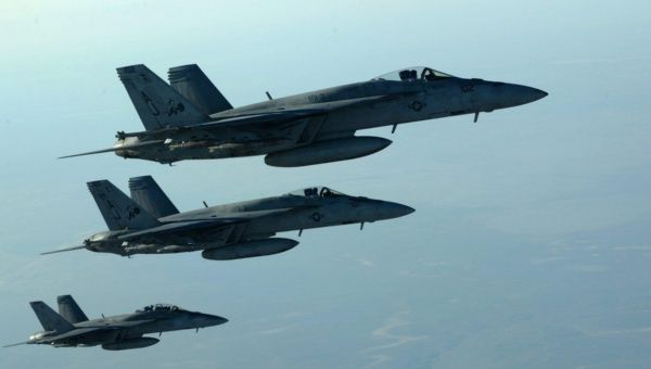 US military says coalition strikes pro-gov't forces in Syria