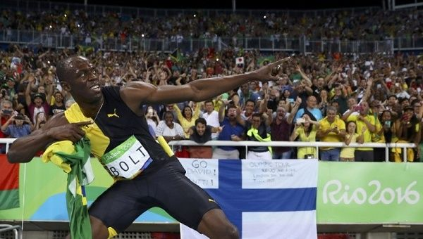 Life in fast lane began in Sherwood Content for Usain Bolt