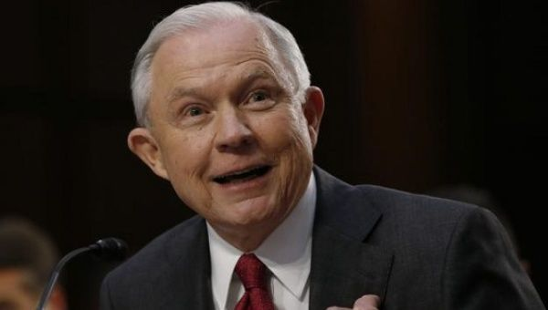 Jeff Sessions Testifies He Never Discussed Election With Russians