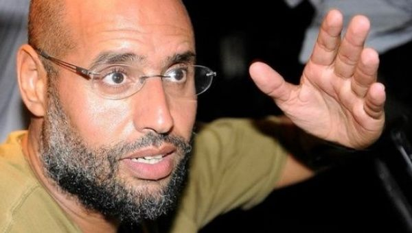International prosecutor calls for arrest of Gadhafi's son