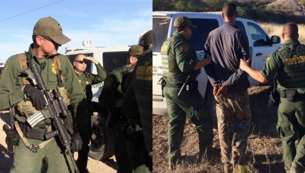 Border Patrol raids desert aid camp, arrests 4 from Mexico