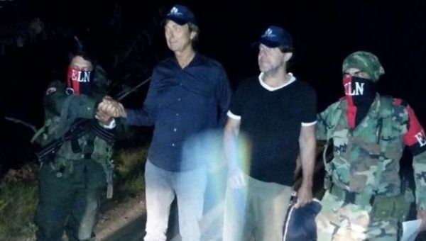 Colombian rebels release kidnapped Dutch journalists