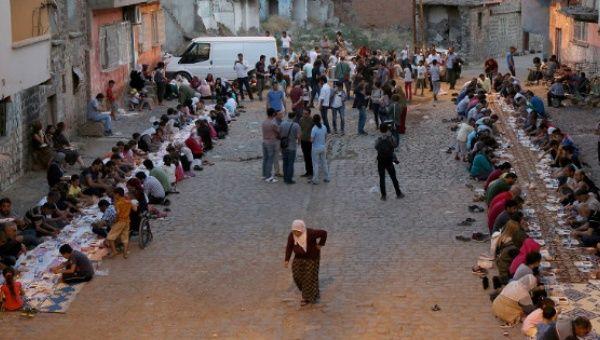 Local Muslims observe Eid al-Fitr