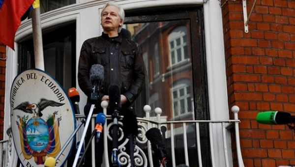 Julian Assange: Democratic Party 'Doomed' Because Collusion Narrative Is a 'Political Dead-End'