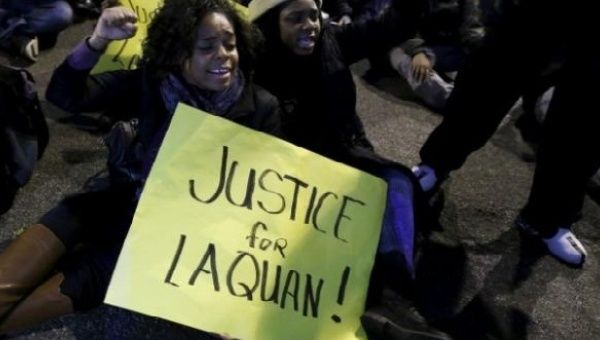 U.S. police indicted for cover up in murder of black teen
