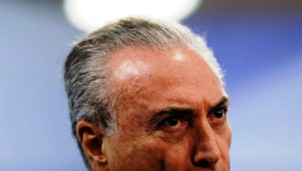 Brazil president charged with corruption
