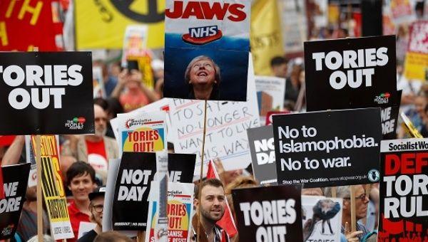 Jeremy Corbyn to address anti-austerity march in London