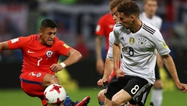 Germans ease into Confed Cup final