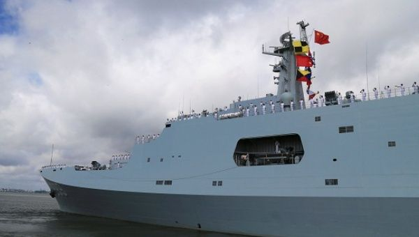 China sets up base in Djibouti