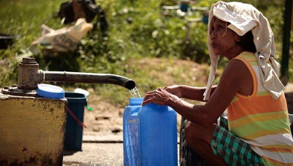 OMS: Tres de cada 10 personas no tienen acceso a agua potable