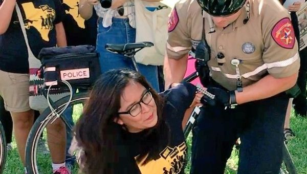 15 activists arrested at Texas protest in support of undocumented immigrants