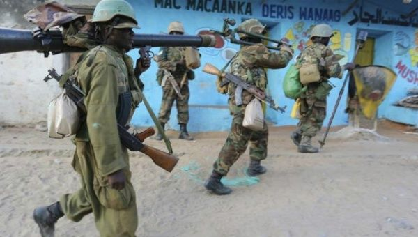 AU troops ambushed in Somalia, official says 24 dead