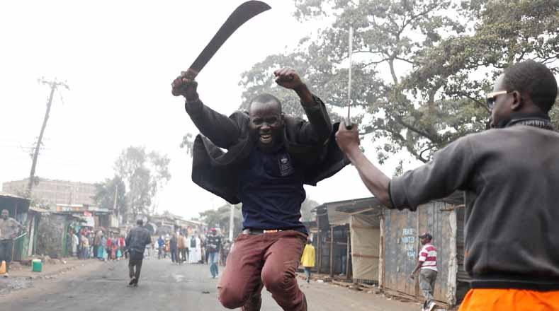 11 muertos tras protestas por resultado electoral en Kenia
