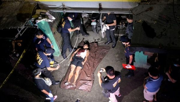 Philippines police kill 32 in bloodiest night of Duterte's war on drugs