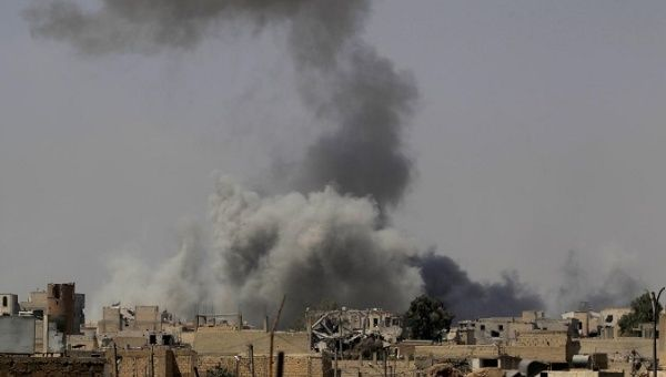 Led strikes kill 42 civilians in Syria's Raqqa