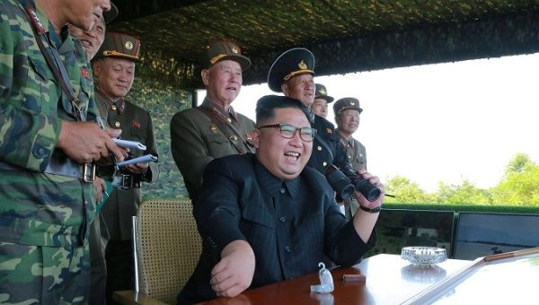 North Korea fires 'several projectiles' into Sea of Japan