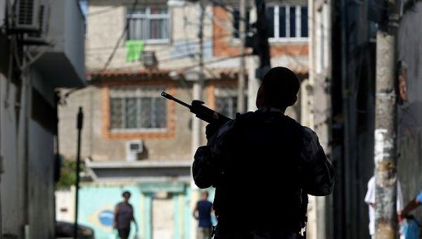 Brazil Rio Police Killed