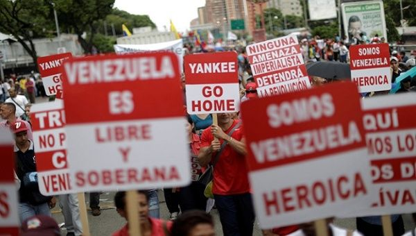 U.S. imposes new sanctions on Venezuela