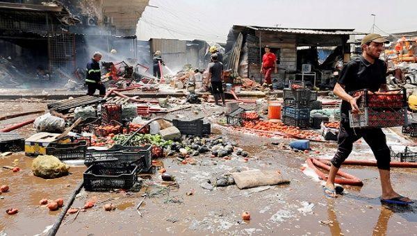 Vehicle bombing kills 11 in Baghdad