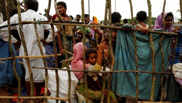 United Nations chief urges restraint by Myanmar forces in Rakhine