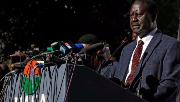 Odinga rejects Kenyan election re-run date without 'guarantees'