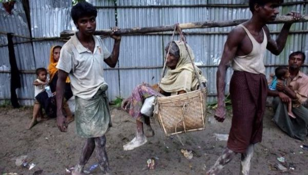 Stop ethnic cleansing of Rohingya Muslims