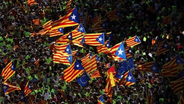 In Catalonia, gave the official start of the campaign for independence
