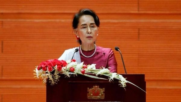 Rights group calls for sanctions against Myanmar's army