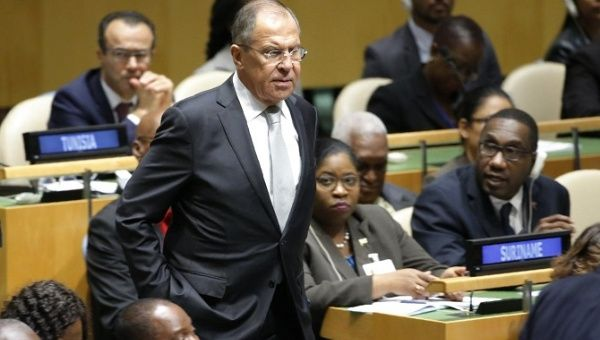Russian Foreign Minister accuses Trump of 'demonizing' North Korea in United Nations speech