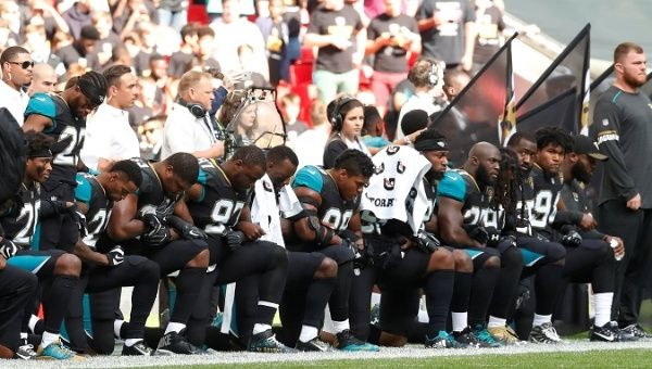 National Football League protests fueled by President Trump
